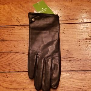 NWT - 100% Lamb Leather KATE SPADE Gloves